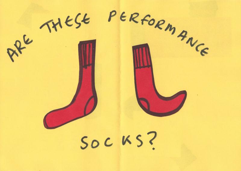 Performance Socks Collage Sophie Lindsey