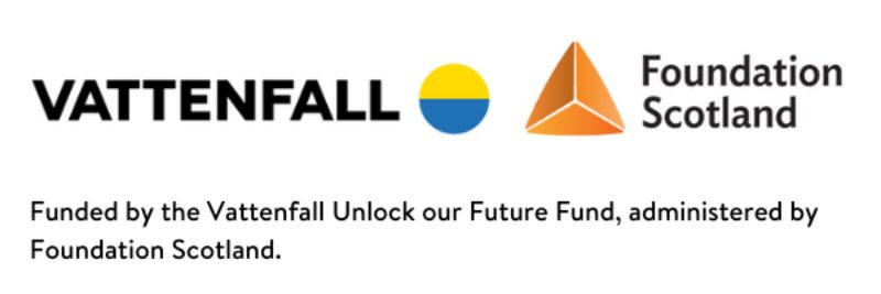Funded By The Vattenfall Unlock Our Future Fund Administered By Foundation Scotland