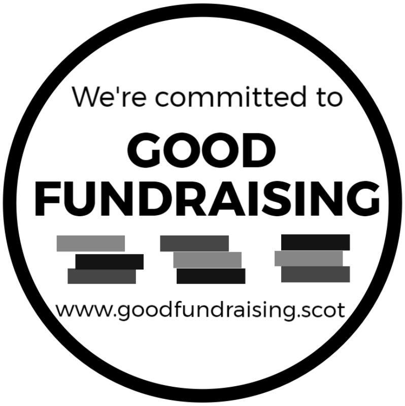 Fundraising Guarantee Logo Black And White Image